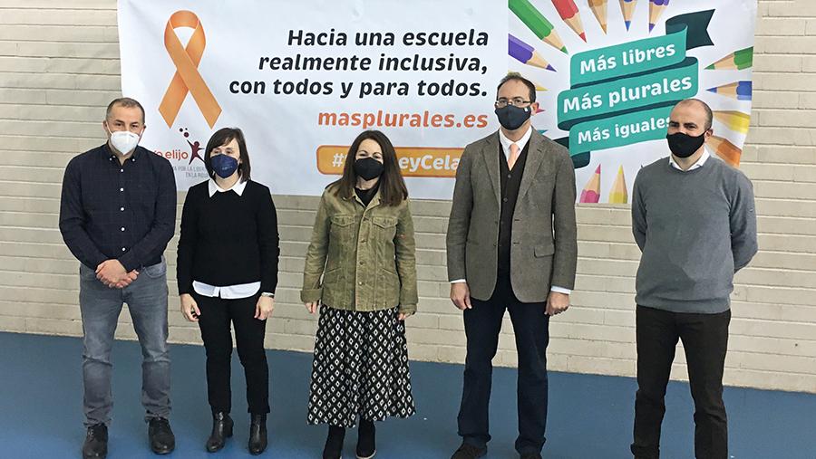 """La Plataforma por la Libertad de Enseñanza en La Rioja califica el último año como un """"año negro para la educación española en general y la riojana, en particular"""""""